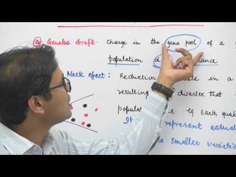 Factors affecting Hardy Weinberg Equilibrium:I - Evolution - Dr. Rajeev Ranjan NEET AIIMS