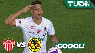 ¡Quiroga empata el partido! | Necaxa 1 - 1 América | Liga Mx - AP 19 - J14 | TUDN