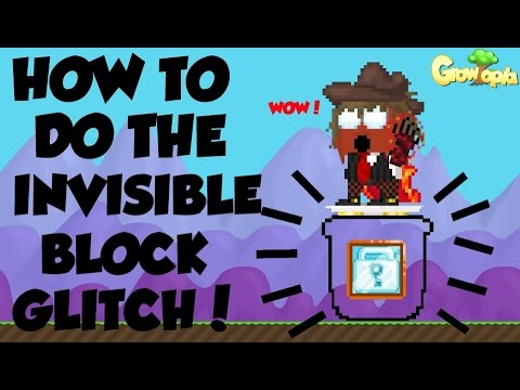 Growtopia | How to make the Invisible Block!