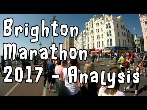 Brighton Marathon 2017 – Analysis & Reflection