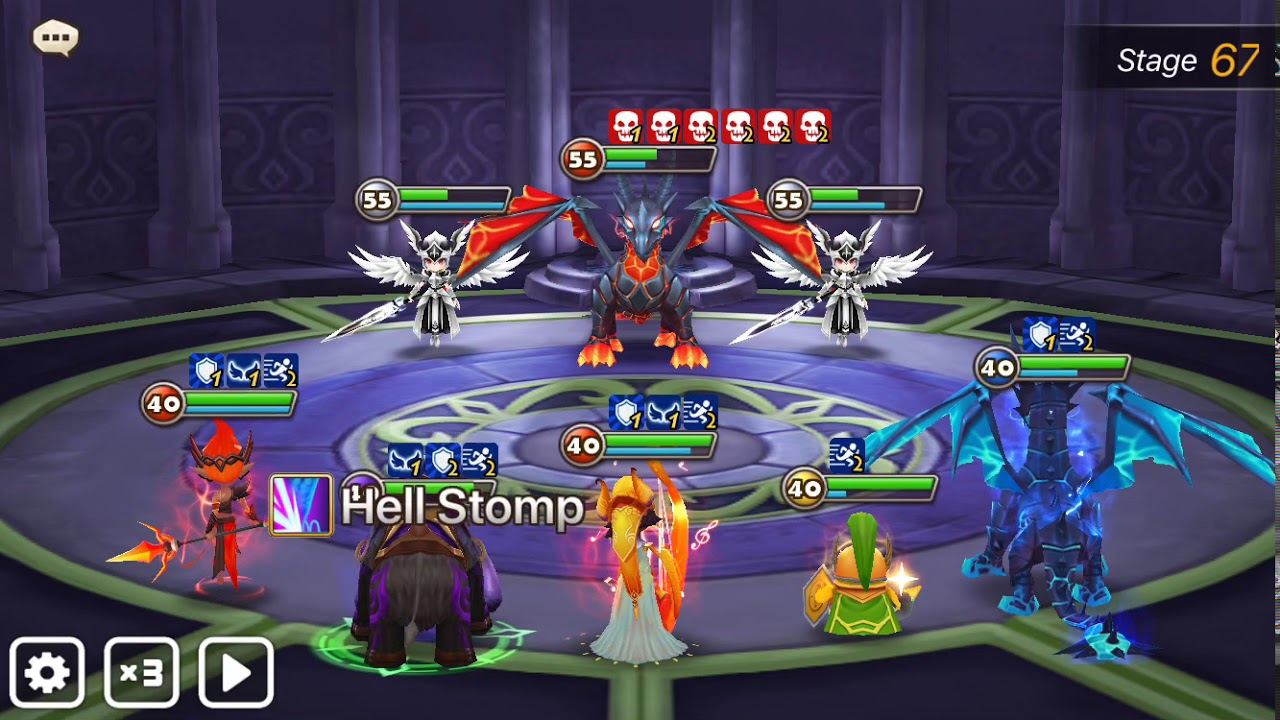 TOAH 67 Akroma Stage with Harmonia