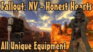 Fallout: NV - Honest Hearts - Unique Weapons & Armor Guide (DLC)
