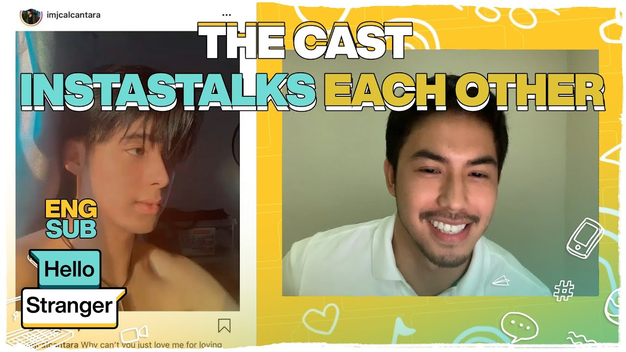 HELLO STRANGER: The cast Insta-stalks each other