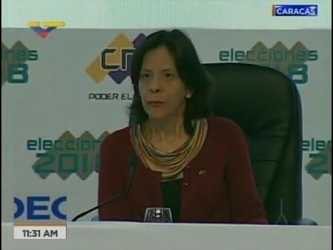 Segundo boletín de resultados de elecciones presidenciales, por Rectora Sandra Oblitas