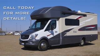 2018 Winnebego View – 24J   Mercedes Benz Sprinter Chassis -  IWS Motorcoaches