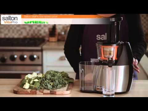 Salton VitaPro - Low Speed Juicer