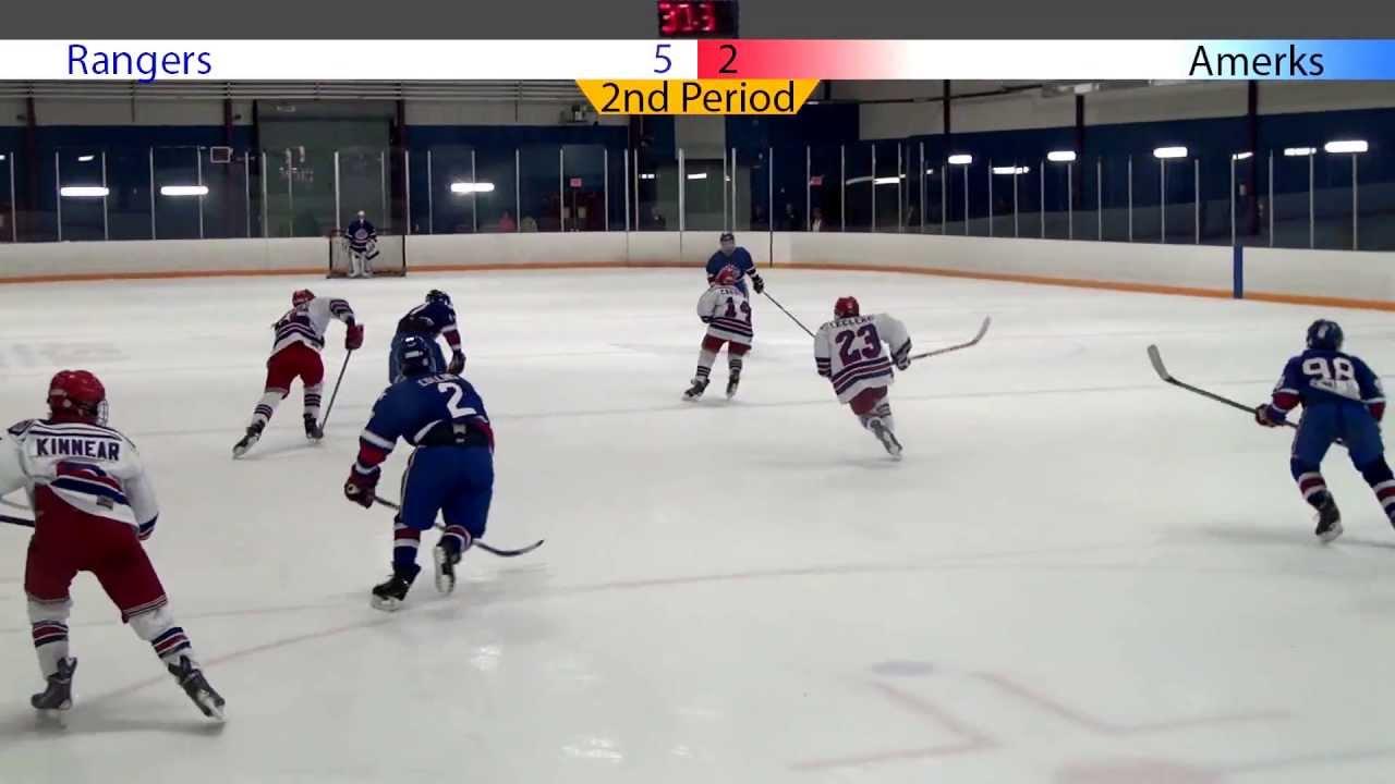Bantam Minor AA Red: Rochester Americans vs. Kitchener Jr. Rangers 9 ...