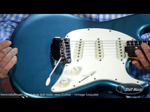Ernie Ball Music Man Cutlass - Vintage Turquoise | N Stuff Music