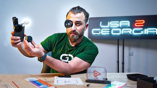 Unboxing/გათამაშება Usa2Georgiaსგან- 3D კალამი, მაკრო ლინზა, სპიკერი