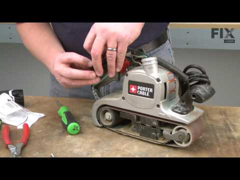 Porter Cable Sander Polisher Repair – How to replace the Belt Switch