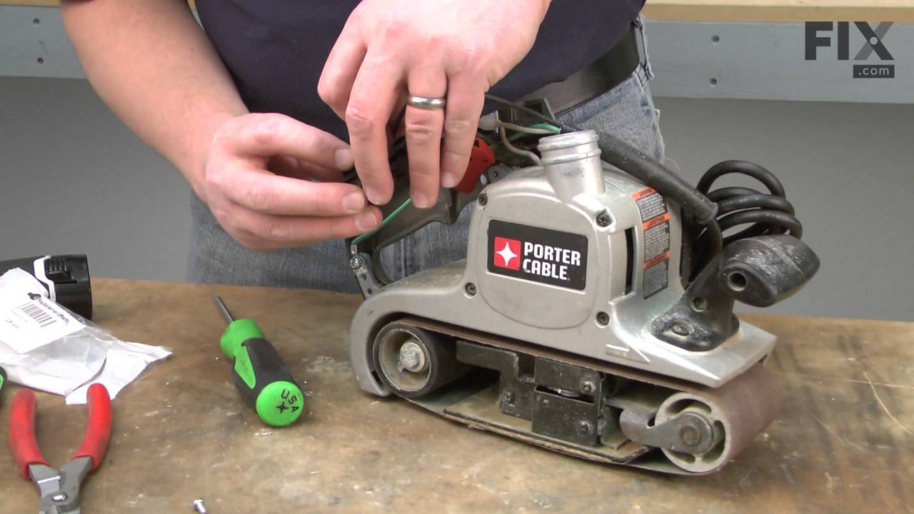 Porter cable sander polisher repair how to replace the belt porter cable sander polisher repair how to replace the belt switch sciox Image collections