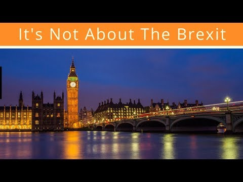 The UK Economy: It's Not About The Brexit