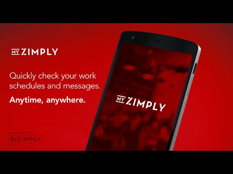 MyZimply - Anytime, anywhere.