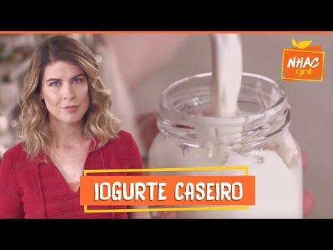 Iogurte Caseiro  Rita Lobo  Cozinha Prática