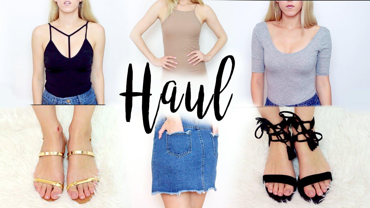 MEGA HAUL VERANO ♥ Try-On Haul Shein, Aliexpress, Fashion71...