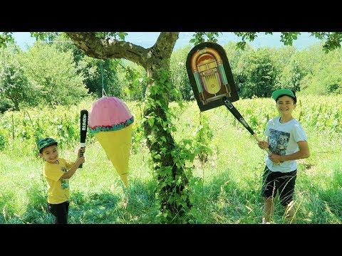 CHALLENGE PINATA - GLACE GÉANTE & JUKEBOX SURPRISE pour la Fête de la Musique & 1er Jour de l'Été ☀️