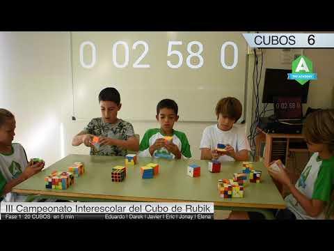 The Academy participa en III Campeonato Interescolar del Cubo de Rubik