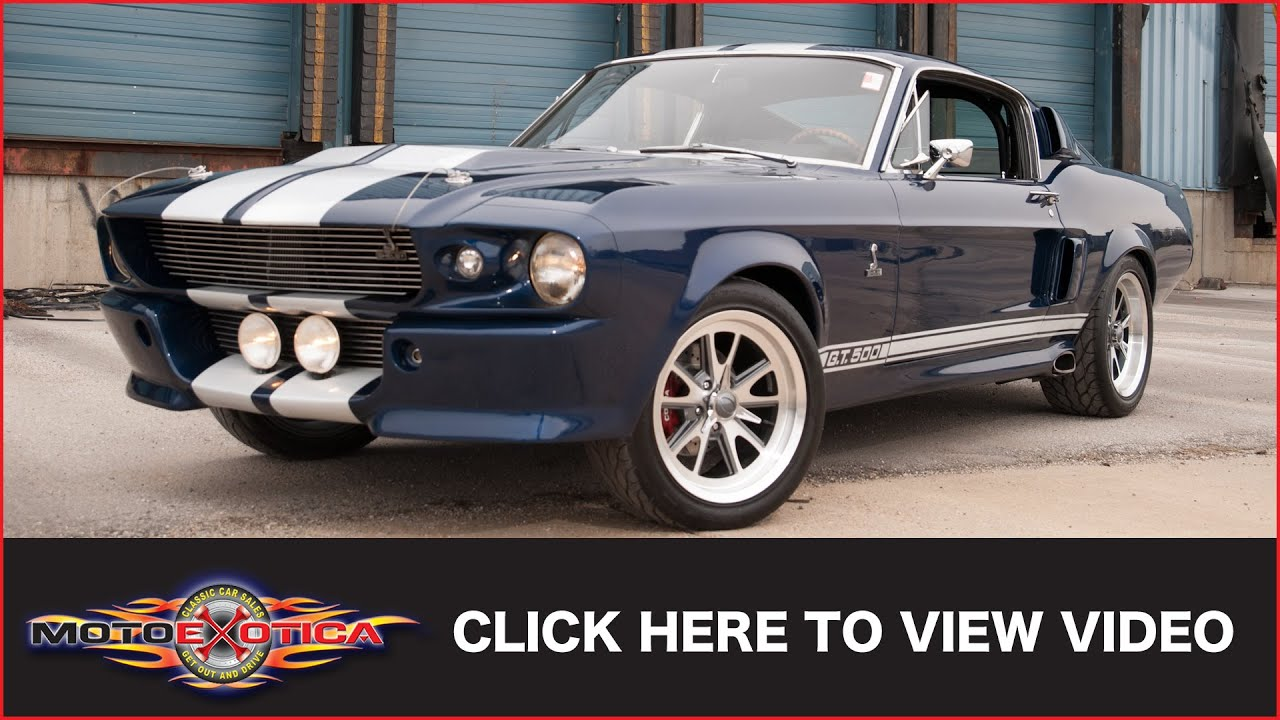 1967 shelby gt500 eleanor sold