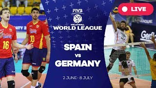 Spain v Germany - Group 3: 2017 FIVB Volleyball World League