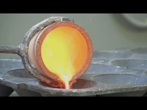 Pyrometallurgical Refining of Precious Metals - Part 2 Gas, Reduction and Fusion
