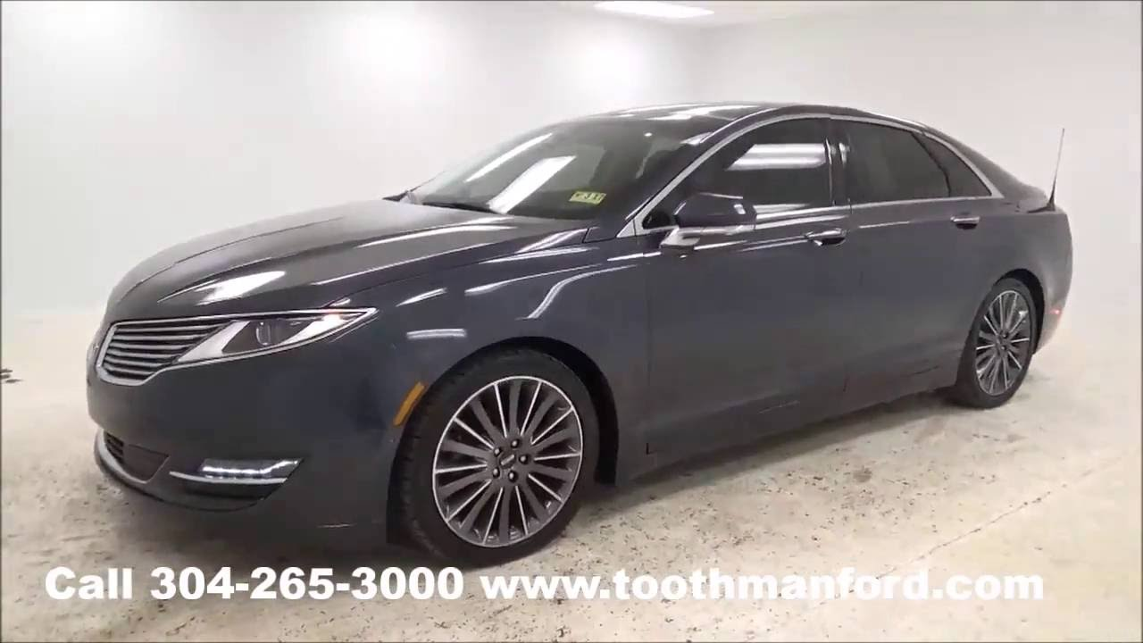 used lincoln mkz for sale morgantown wv toothman ford 304 265 3000 youtube. Black Bedroom Furniture Sets. Home Design Ideas
