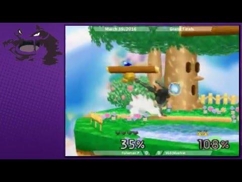 Uprising 6 - Fishaman P (Falcon) vs VGS|Meerkat (Pikachu, Yoshi) SSB64 Grand Finals |