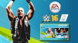 WWE 2K16 - What if EA Sports Made WWE Games (WWE FIFA)