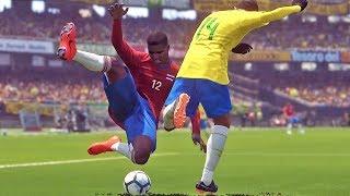 Download Video Brasil X Costa Rica: Copa do Mundo Rússia - Pro Evolution Soccer 2018 (PES 2018) MP3 3GP MP4