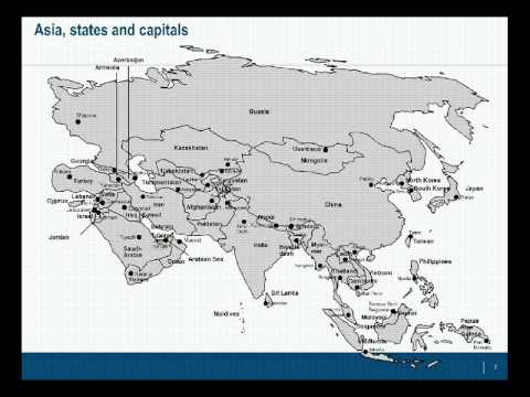 PowerPoint Maps of Asia Pacific APAC YouTube