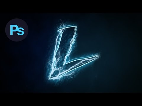 Design a Lightning Text Effect Photoshop Tutorial