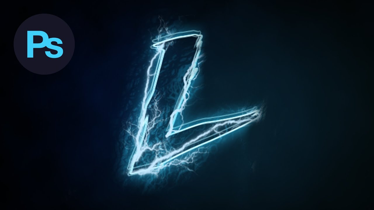 Design a lightning text effect photoshop tutorial youtube baditri Gallery