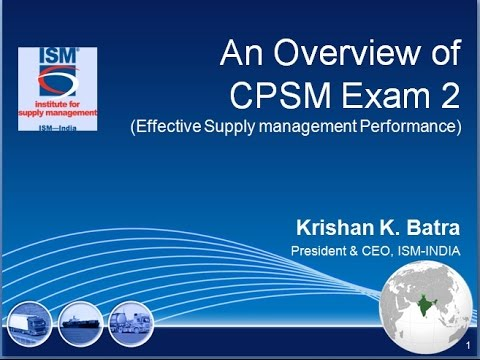 CPSM CERTIFICATION EXAM 2 OVERVIEW - YouTube
