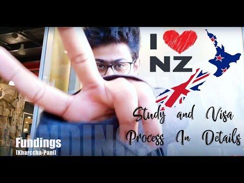 Study in New Zealand & Student Visa, Intake Month, Part time, Documents | emFLASH Vlog