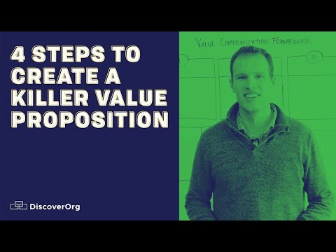 Value Proposition: 4 Steps to Create One (and win)