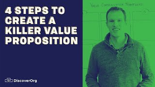 4 Steps To Create A Killer Value Proposition