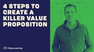 4 Schritte Zum Erstellen Einer Killer-Value Proposition