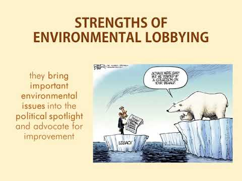 ENVIRONMENTAL LOBBYING by KCielo and MSadiwa