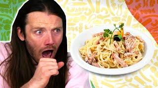 Irish People Try Italian Food