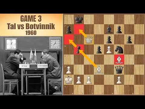 Tempting Fate | Tal vs Botvinnik 1960. | Game 3