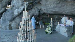Messe de 10h à Lourdes du 12 avril 2021