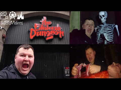 Edinburgh Dungeons VIP Behind The Scenes Tour - The Dungeons  - Merlin Entertainments - SJBBVideos