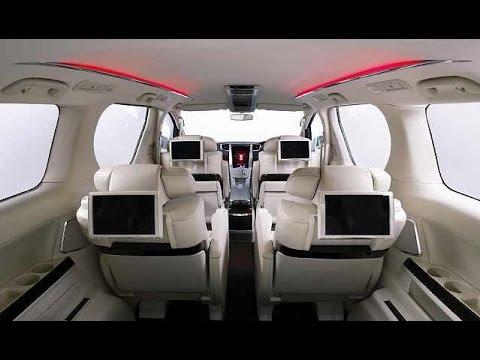 All New Alphard Interior Toyota Yaris Trd Sportivo Modif 2016 Youtube