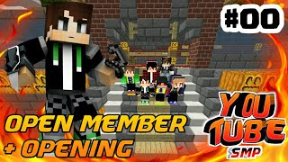 Gambar cover Opening + open member - YOUTUBE SMP S3 - #00
