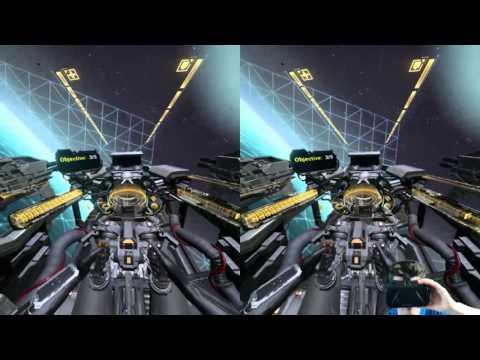 EVE: Valkyrie Alpha - Oculus Rift DK2 VR Gameplay
