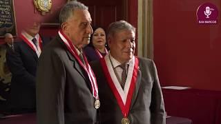 Tema: Distinción de Profesor Emérito al Dr. Hugo Lázaro Manrique