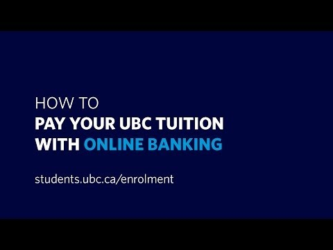 How to pay your tuition with online banking