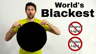 IR Flock SheetThe Darkest Material in The World Absorbs Over 99.5% of Visible And Infrared Light
