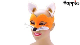 Венецианская маска лисички с ушками / Обзор