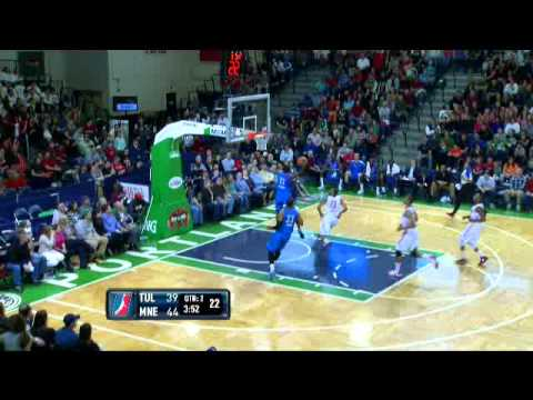 Tulsa 66ers 99, Maine Red Claws 100