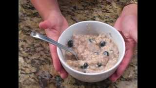 Old Fashioned Blueberry Oatmeal